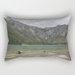 Avalanche Lake No. 2 - Glacier NP Rectangular Pillow