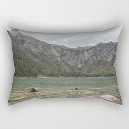 Avalanche Lake No. 2 - Glacier NP Rectangular Pillow