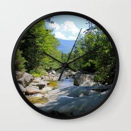 Cascade Brook Wall Clock