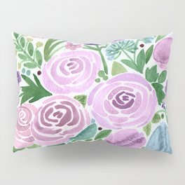 Watercolor . Macaroons in the colors . Pillow Sham