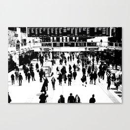 Commuter Art London Canvas Print