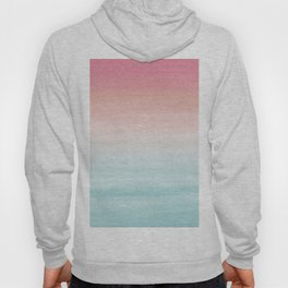 Touching Watercolor Abstract Beach Dream #1 #painting #decor #art #society6 Hoody