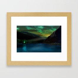 Romantic Rhine Framed Art Print