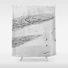 Patagonia Landforms  Shower Curtain