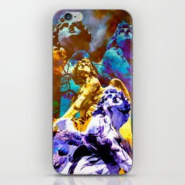 Blue Angels call your Name iPhone Skin