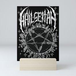 Hail Seitan Mini Art Print