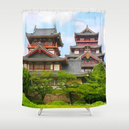 Castle Olden (Fushimi Momoyama) Shower Curtain