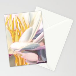 Abstract Water Lily  Stationery Cards