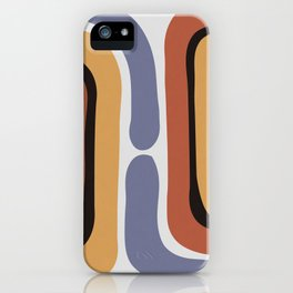 Reverse Shapes II iPhone Case
