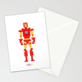 Pixel Iron Man Mk 3 Stationery Cards
