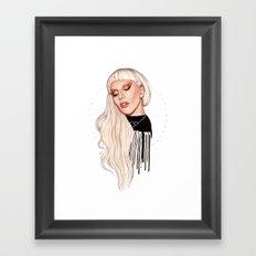 LG x AW Framed Art Print