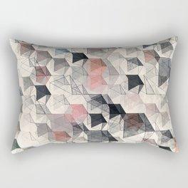 as the curtain falls (variant) Rectangular Pillow
