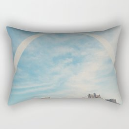 the gateway to the west ... Rectangular Pillow
