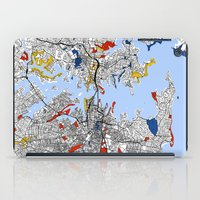 sydney iPad Cases featuring Sydney by Mondrian Maps