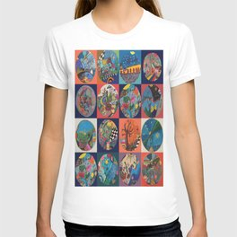 Bolitas de colores T-shirt