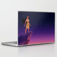 pocahontas Laptop & iPad Skins featuring Pocahontas ♥ by Vita♥G