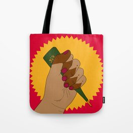 Henna Power Tote Bag