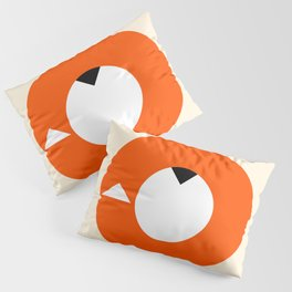 A Most Minimalist Fox Pillow Sham