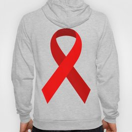 Red Awareness Support Ribbon Hoody
