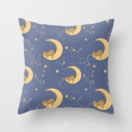 Moon bear Throw Pillow