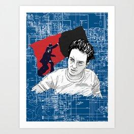 Joe Strummer: Sandinista/The Clash Art Print