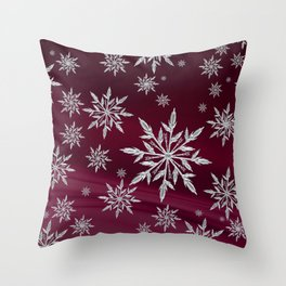 Christmas magic 3. Throw Pillow