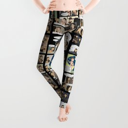 Nagron Chibi Collection (Spartacus) Leggings