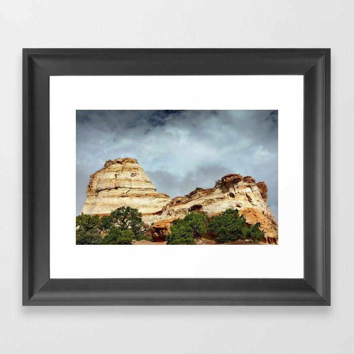 Ghost Rocks Framed Art Print