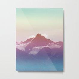 daylight #mountain #sky Metal Print