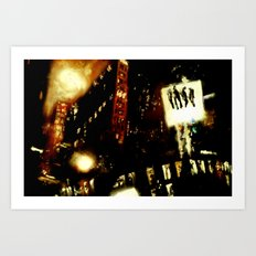 Lost in Some City No. 4 Art Print