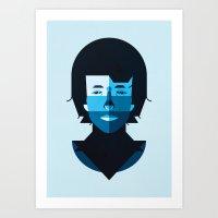 bob dylan Art Prints featuring Bob Dylan by rubenmontero