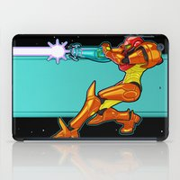 samus iPad Cases featuring Samus Aran by Arnix
