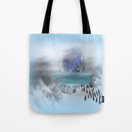 world of ice Tote Bag