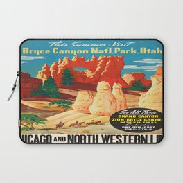 Vintage poster - Bryce Canyon Laptop Sleeve