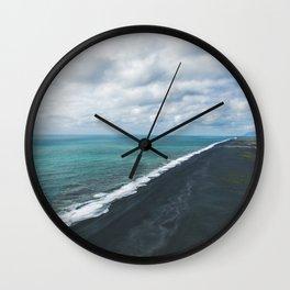 Endless Coastline Wall Clock
