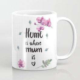 Home is where mum is Coffee Mug