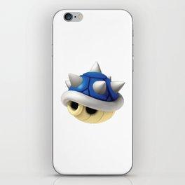 Blue Shell Mario iPhone Skin