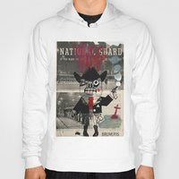 the national Hoodies featuring national guard by Normunds Bruveris