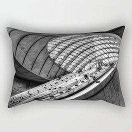 Canary Wharf Tube Escalator Rectangular Pillow