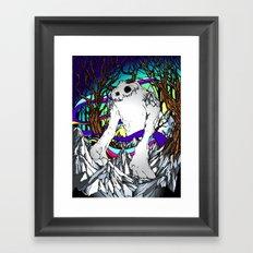 ELEMENTAL YETI Framed Art Print
