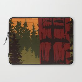 Gwaii Haanas National Park Reserve, National Marine Conservation Area Reserve & Haida Heritage Site Laptop Sleeve
