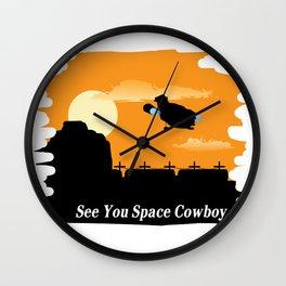 Serenity X Bebop Wall Clock