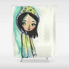 The Garden Gnome Shower Curtain