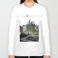 converse Long Sleeve T-shirts featuring Converse It by Sergey Kireev