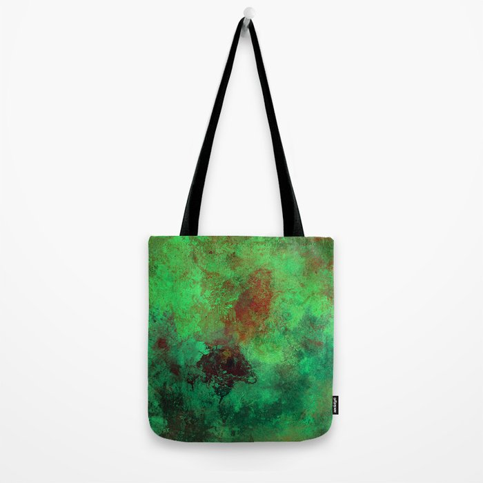 Isolation - Abstract, textured painting Tote Bag