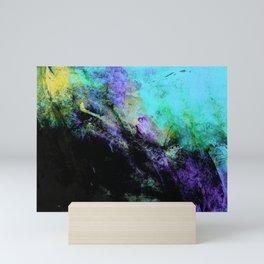 STORMY BLACK Mini Art Print