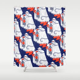 Nuno Pattern Shower Curtain