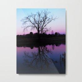 purple dawn I Metal Print