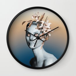 Werewoman Wall Clock