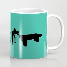 Evolution snooker Coffee Mug